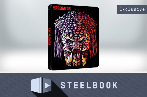 THE PREDATOR 4K UHD STEELBOOK