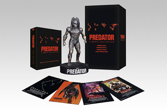THE PREDATOR 8-DISC COLLECTORS EDITION