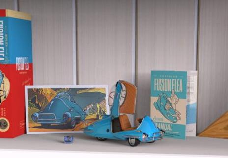 Fallout Fusion Flea 1:18th Scale - The Wand Company