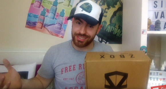 Sir Vaping Alot ZBOX unboxing
