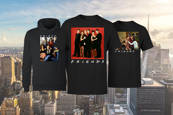 FRIENDS LICENSED APPAREL