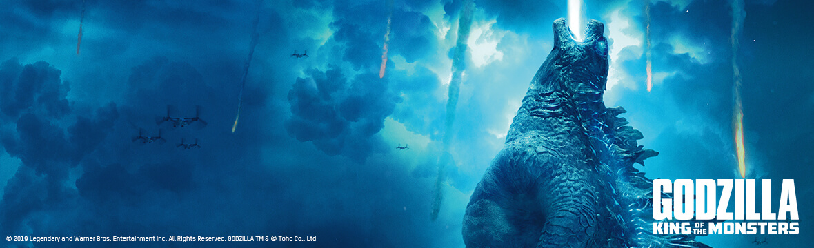 Godzilla: King of Monsters steelbook available to pre-order!