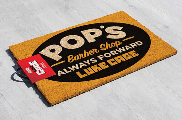 LUKE CAGE LIMITED EDITION DOOR MAT