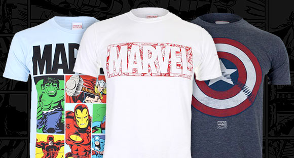 2 FOR $27 MARVEL T-SHIRTS