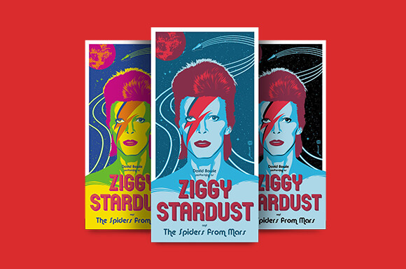 DAVID BOWIE 'ZIGGY STARDUST' SCREENPRINTS