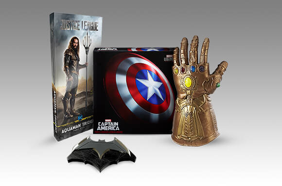 Collectibles and Movie Replicas