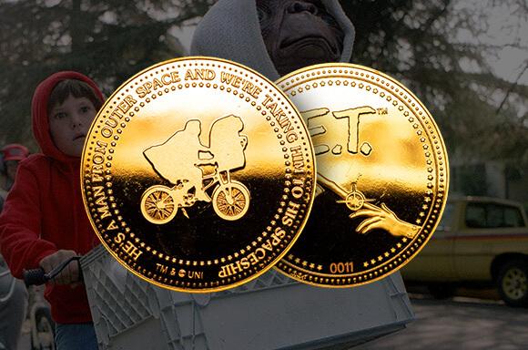 E.T. Collectors Coin: Gold Variant - Zavvi Exclusive