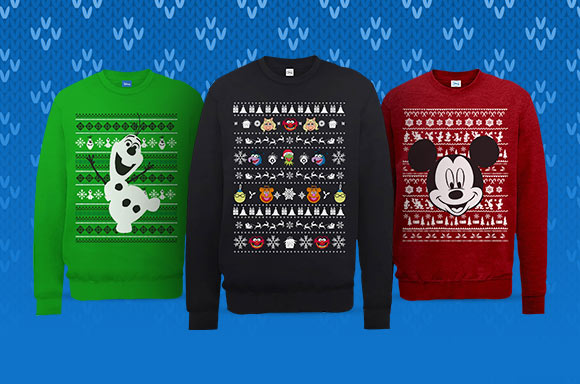 DISNEY XMAS JUMPERS