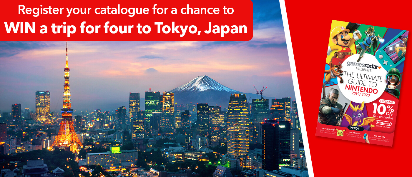 Register your catalogue for a chance to win a trip for four to Tokyo, Japan and receive 10% off your next order!