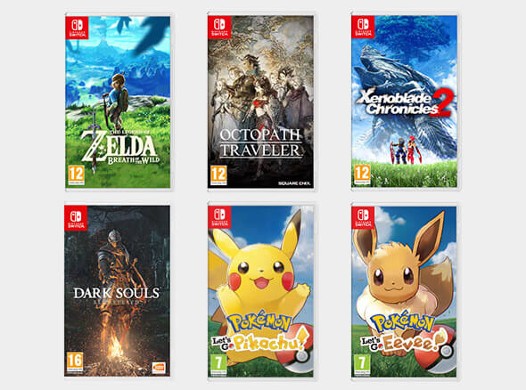 <b>Nintendo Switch Games</b>