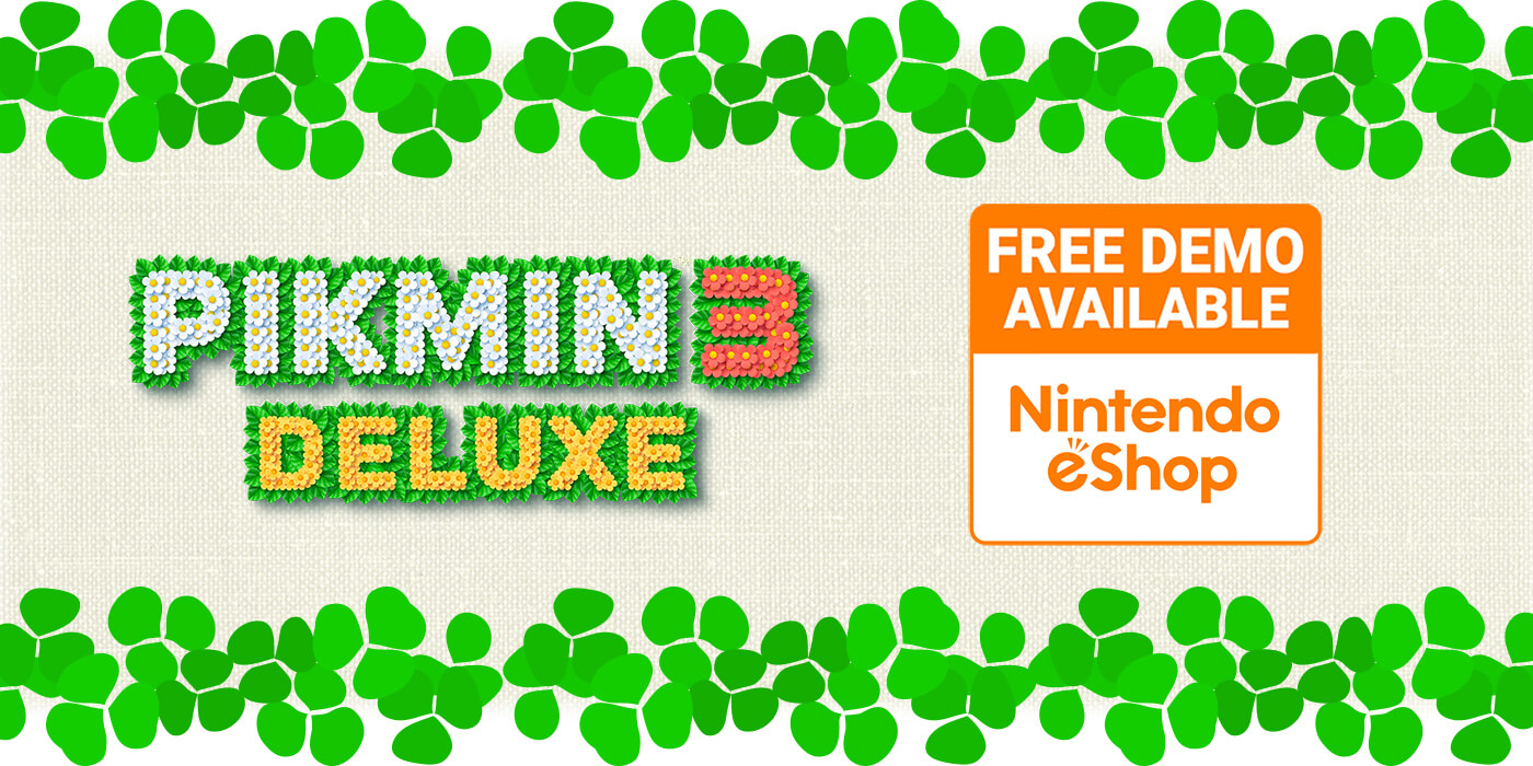 Pikmin 3 Deluxe Free Demo Available