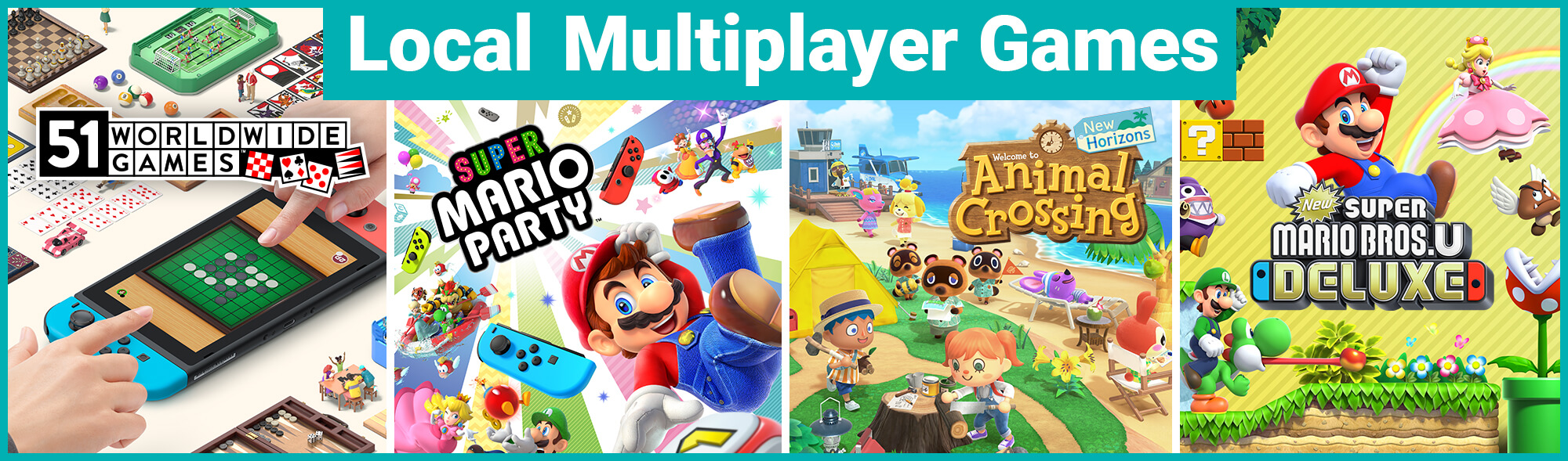 Local Multiplayer Games Hub