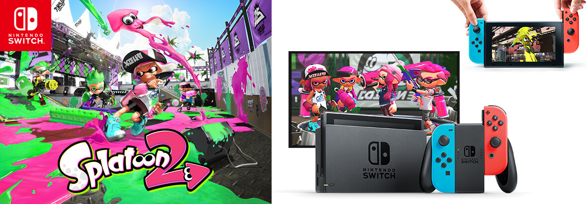 Splatoon 2 on Nintendo Switch