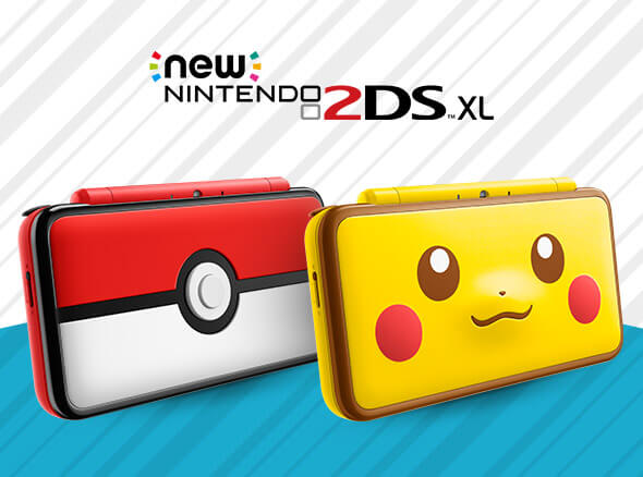 <b>New Nintendo 2DS XL - Poké Ball Edition and Pikachu Edition</b>