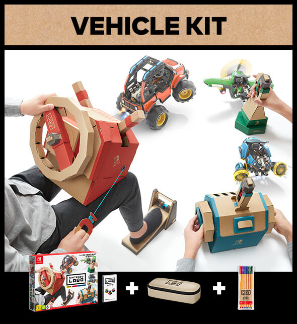 <b>Nintendo Labo: Vehicle Kit</b>