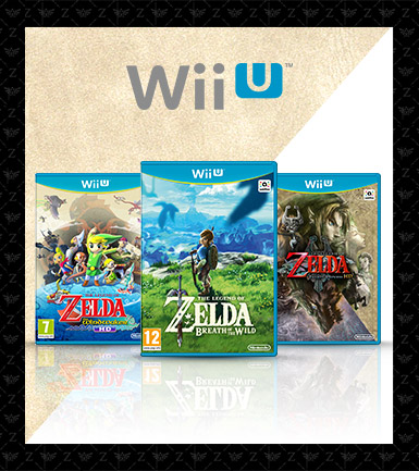 The Legend of Zelda Wii U Games