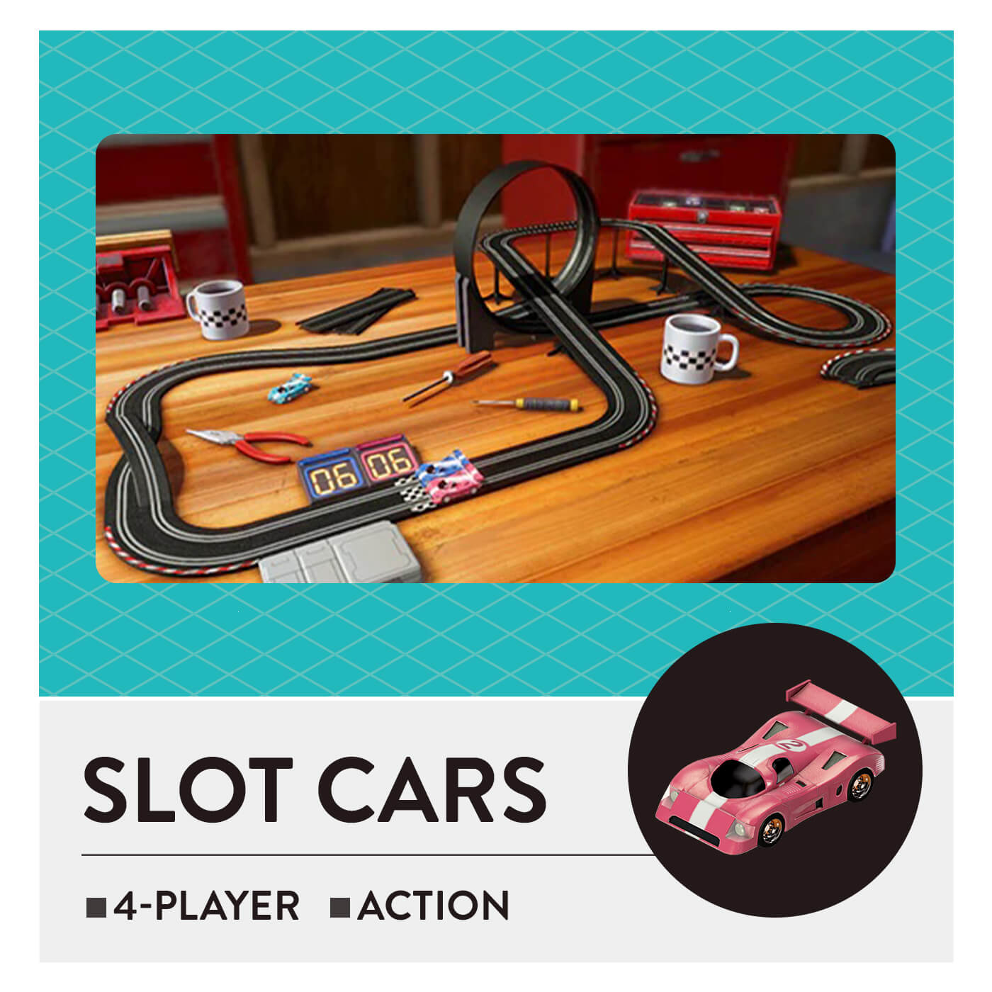 51 Worldwide Games - Slot Cars
