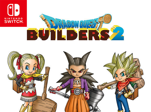 <b>DRAGON QUEST BUILDERS 2</b><br><br>