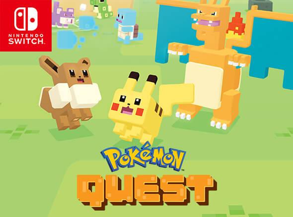 <b>Pokémon Quest</b>