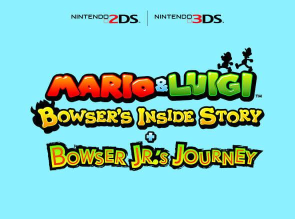 <b>Mario & Luigi: Bowser's Inside Story + Bowser Jr.'s Journey</b>