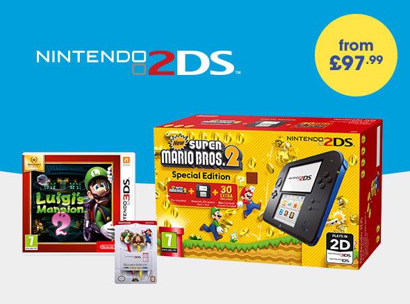 Star Bundles - Nintendo 2DS - From £97.99