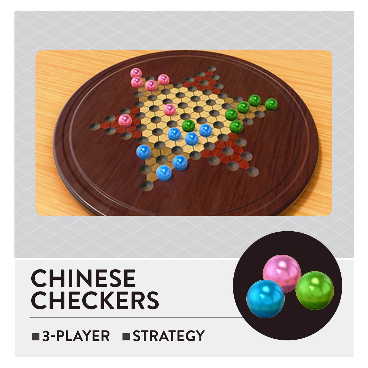 51 Worldwide Games - Chinese Checkers