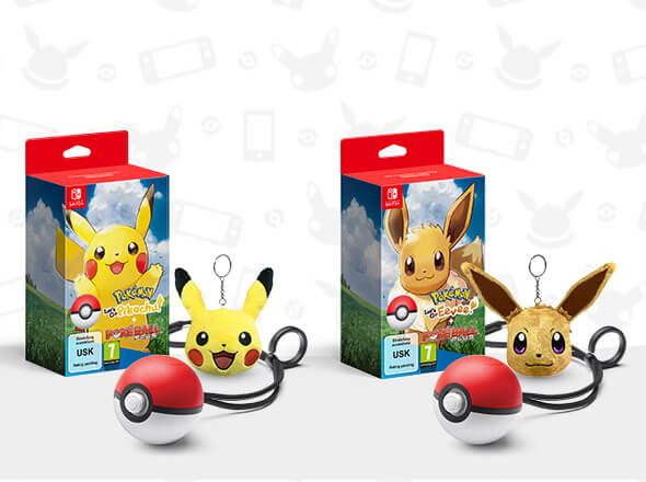 <b>Game + Poké Ball Plus Pack + Keychain</b>