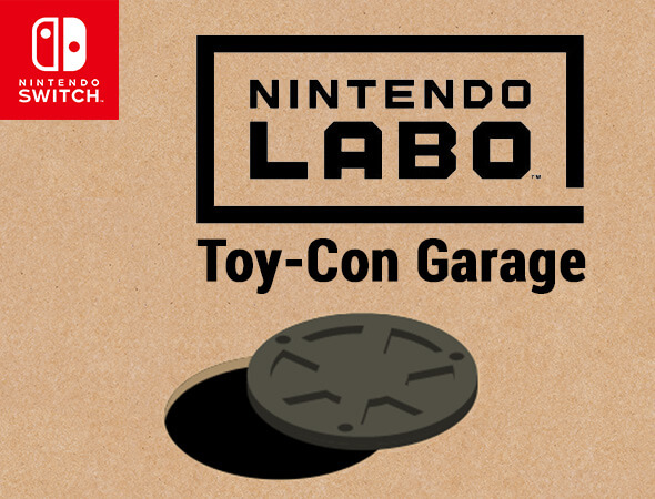 Invent new ways to play with Nintendo Labo Toy-Con Garage