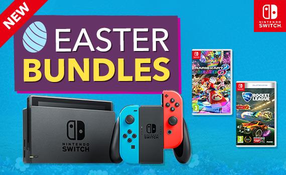 <b>Easter Nintendo Switch Bundles</b>