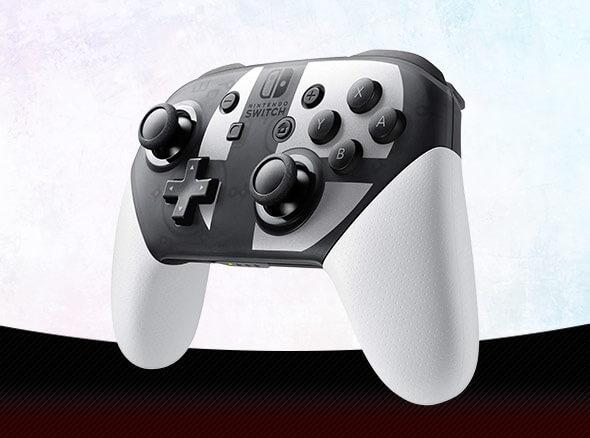 <b>Nintendo Switch Pro Controller Super Smash Bros. Ultimate Edition</b>