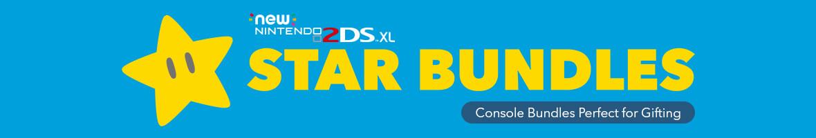 Star Bundles - New Nintendo 2DS XL - From £164.99
