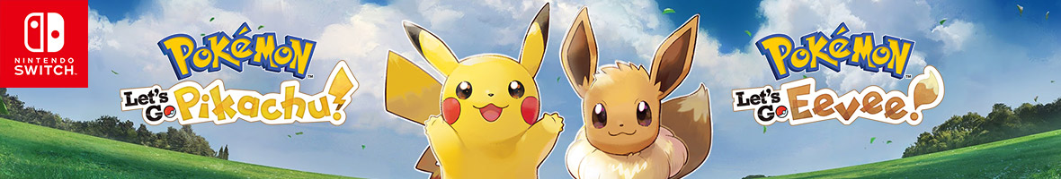 Pokémon: Let's Go, Pikachu! and Pokémon: Let's Go, Eevee! (Nintendo Switch)