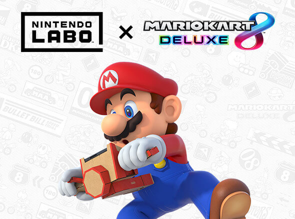 <b>Discover a new way to play Mario Kart 8 Deluxe with Nintendo Labo!</b>