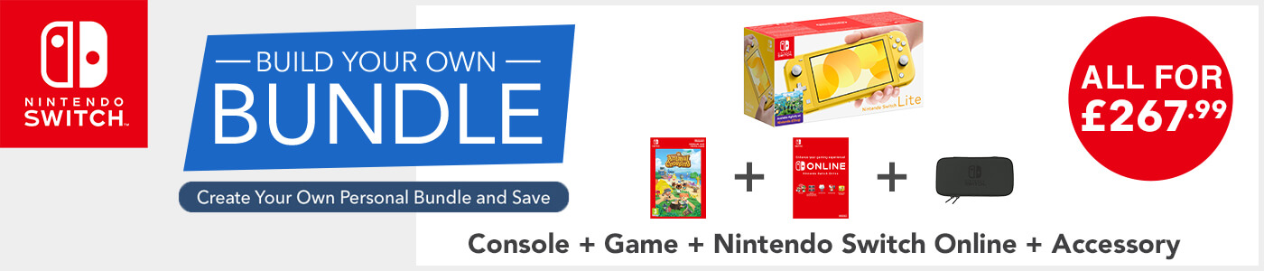 Nintendo Switch Lite - Build Your Own Bundle