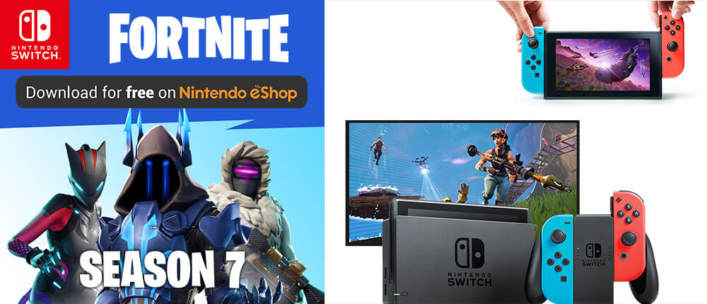 Fortnite on Nintendo Switch - Fortnite Season 7 is available now!