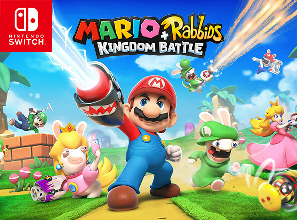 <b>Mario + Rabbids Kingdom Battle</b>