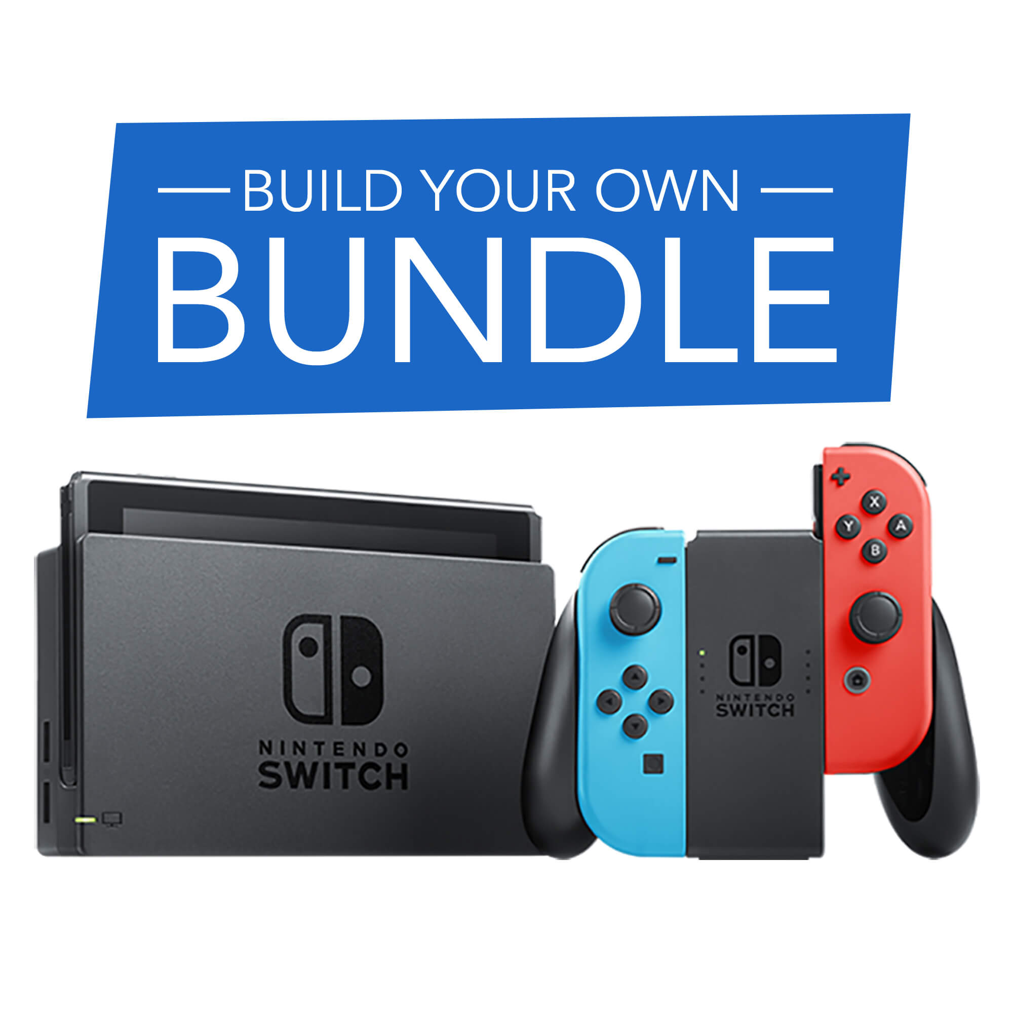 Nintendo Switch Build Your Own Bundle