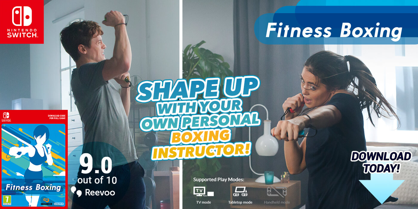 Shape up with your own personal boxing instructor! Download Fitness Boxing today