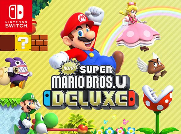 <b>New Super Mario Bros. U Deluxe</b><br><br>