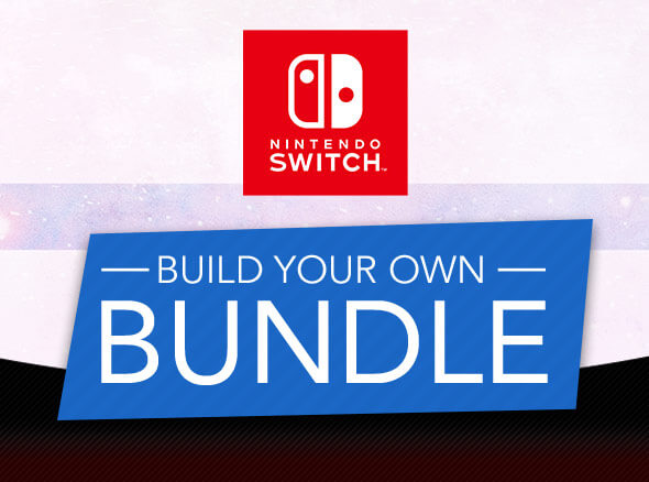 <b>Build Your Own Nintendo Switch Bundle</b>