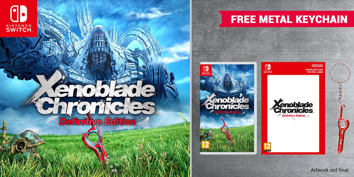 Pre-order Xenoblade Chronicles: Definitive Edition