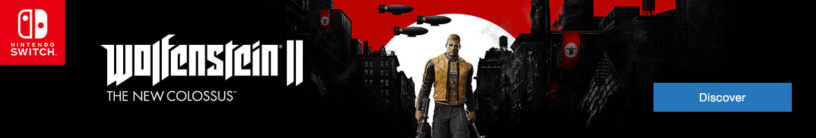 Wolfenstein II: The New Colossus on Nintendo Switch