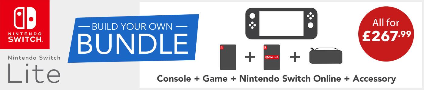 Nintendo Switch Lite - Build Your Own Bundle