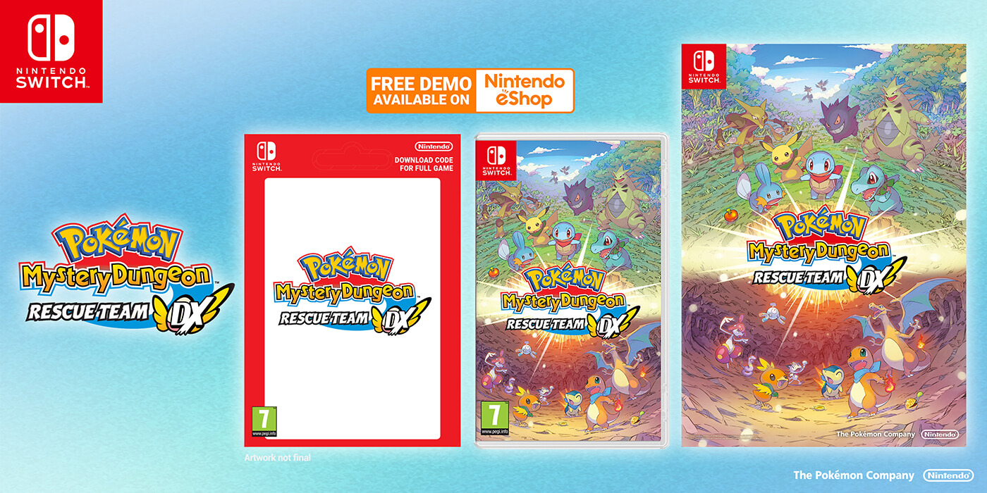 Pokemon Mystery Dungeon Rescue DX