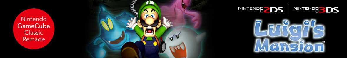 Luigi's Mansion (Nintendo 3DS)