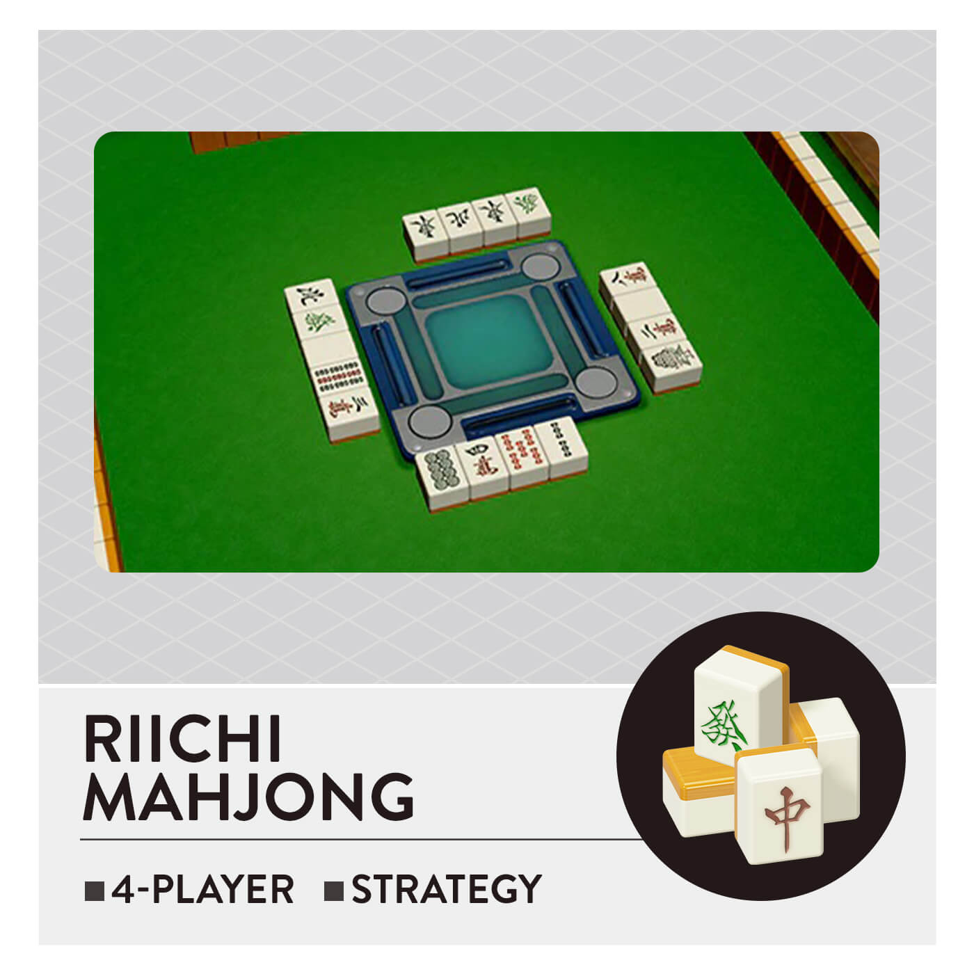 51 Worldwide Games - Riichi Mahjong