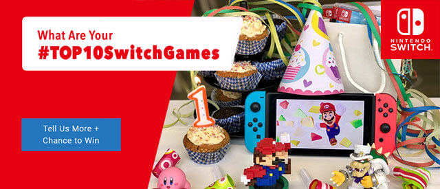 What are your #Top10SwitchGames