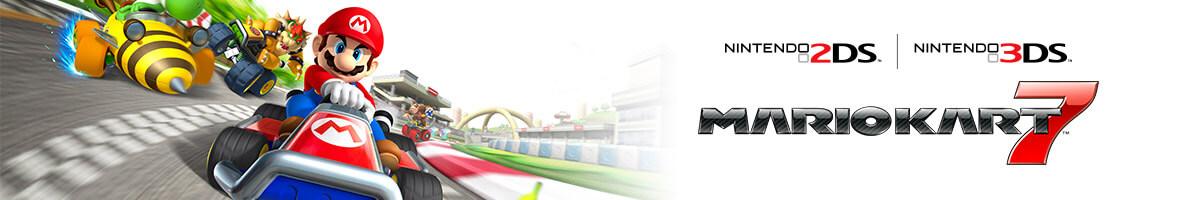 Mario Kart 7 on Nintendo 3DS Family Systems