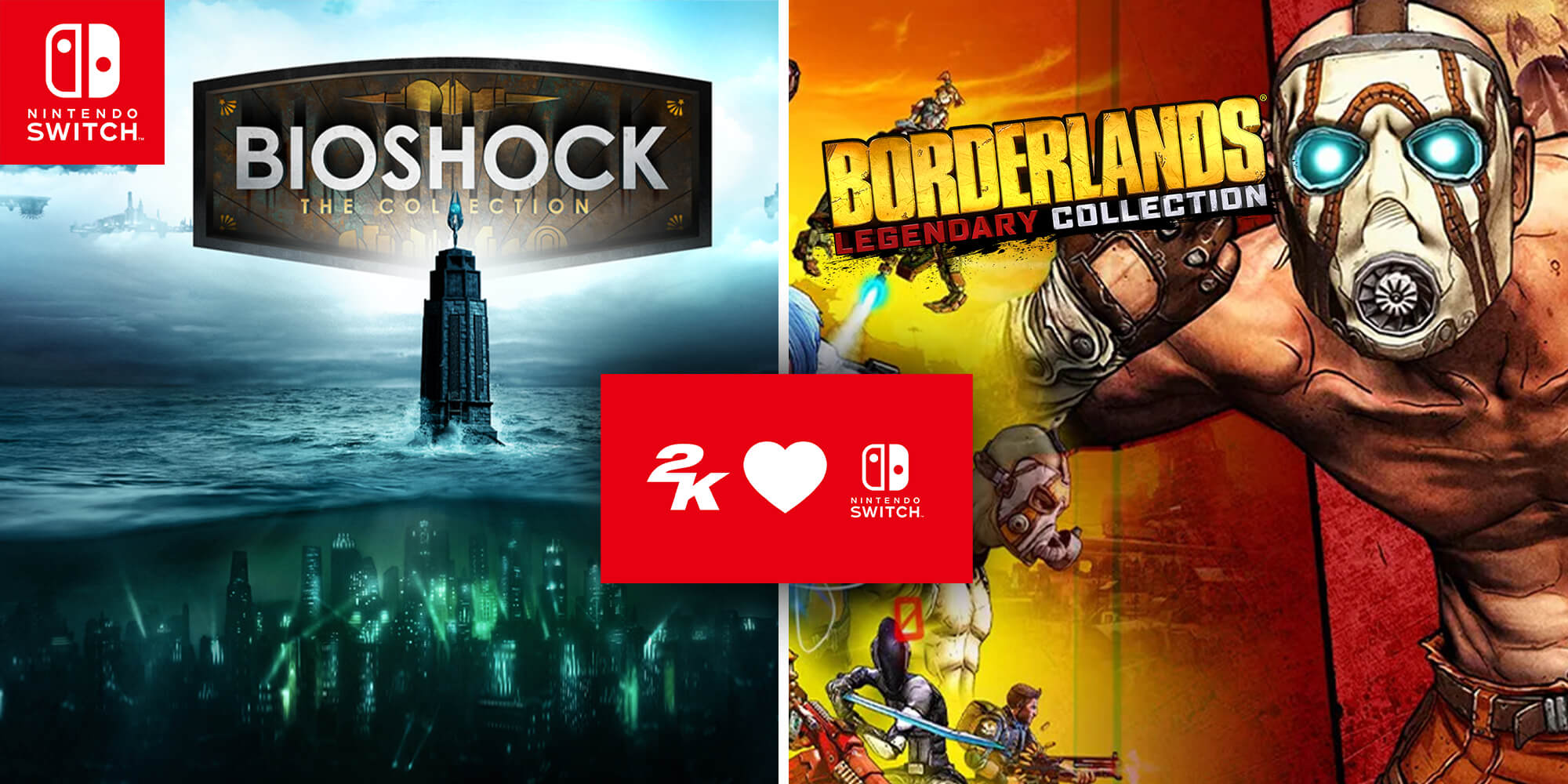 2K | BioShock: The Collection and Borderlands Legendary Collection