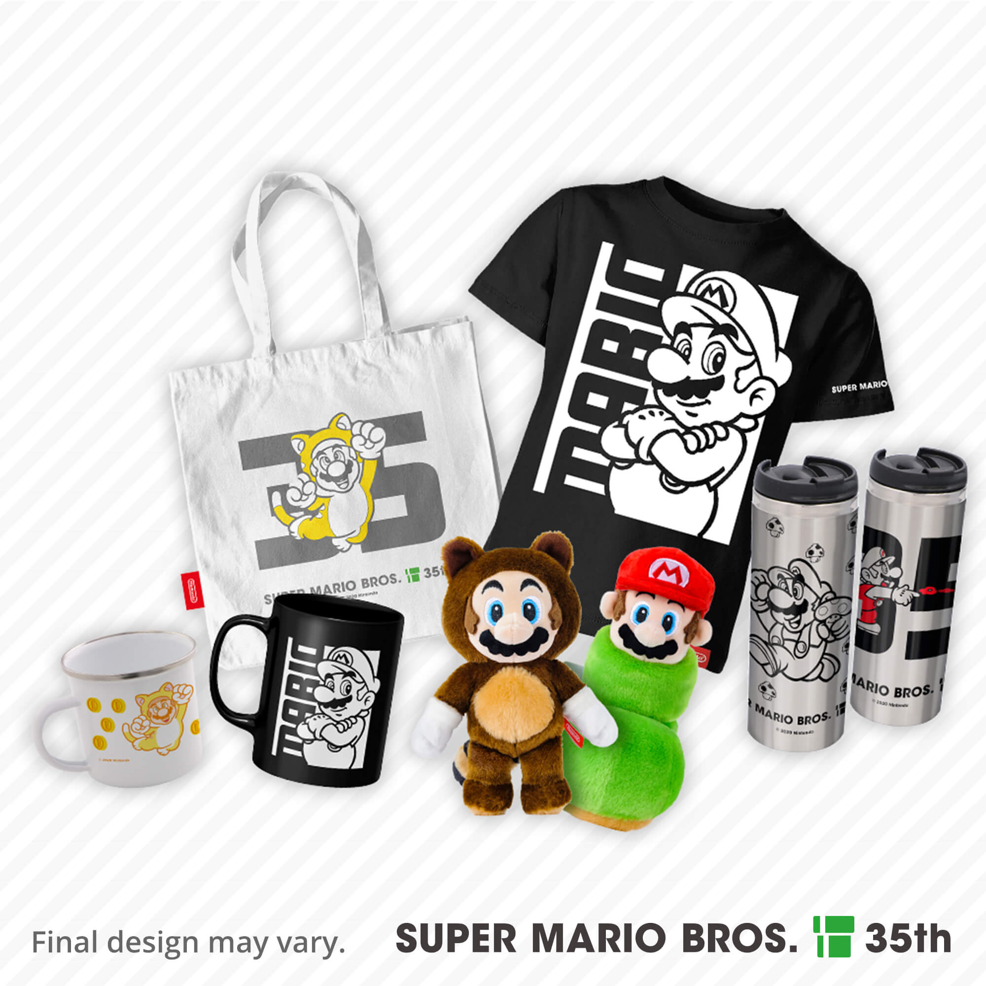 Super Mario Bros. 35th Anniversary merchandise